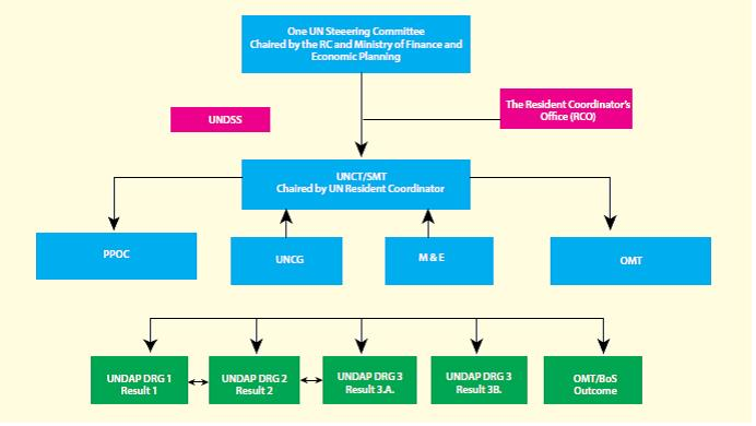 ONE UN Rwanda Decision Making Structures
