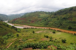 Rwanda is experiencing unusually heavy land loss and about half of Rwanda's farm land shows evidence of modest to severe erosion